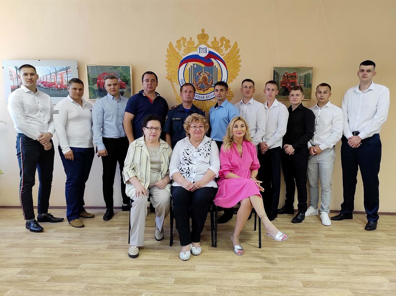 """Успешно прошла защита ВКР на кафедре """"Пожарная безопасность"""""""