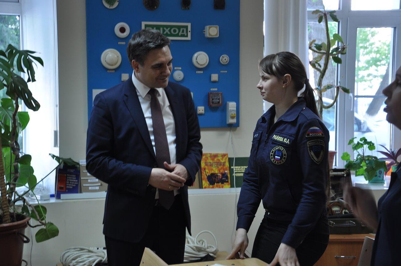 Рабочий визит врио ректора МГУТУ в Пензенскую область