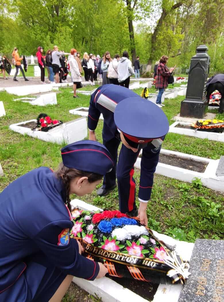 Церемония возложения венков