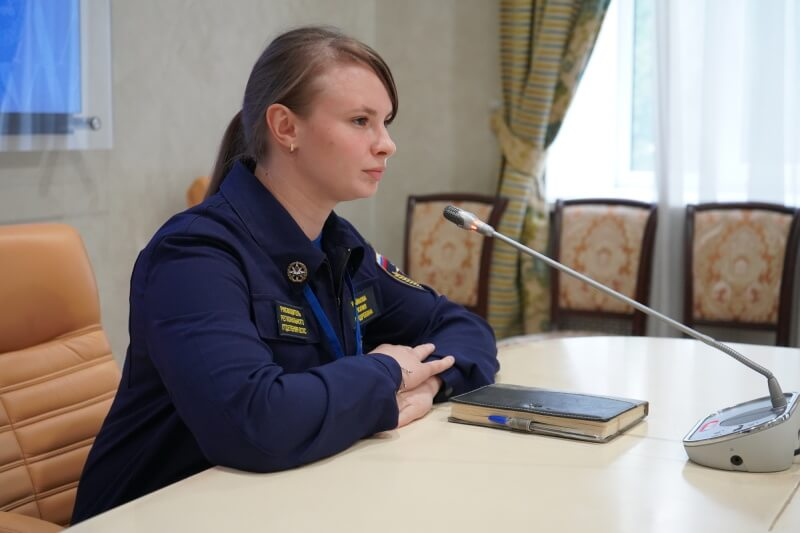 Студентка нашей кафедры возглавила региональное отделение Всероссийской общественной молодежной организации Всероссийский студенческий корпус спасателей